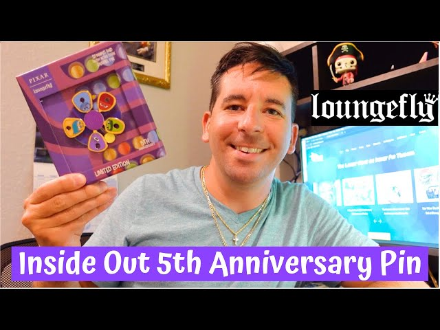 Inside Out 5th Anniversary Loungefly Disney Pin! | Limited Edition of 500