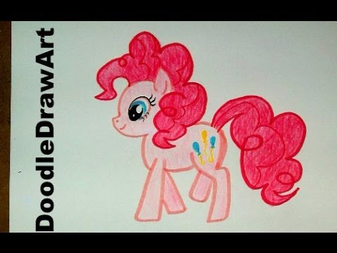 Drawing How To Draw Pinkie Pie My Little Pony Step By