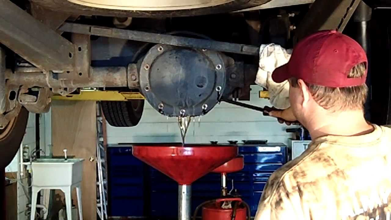 Fix It Right Differential Service Youtube
