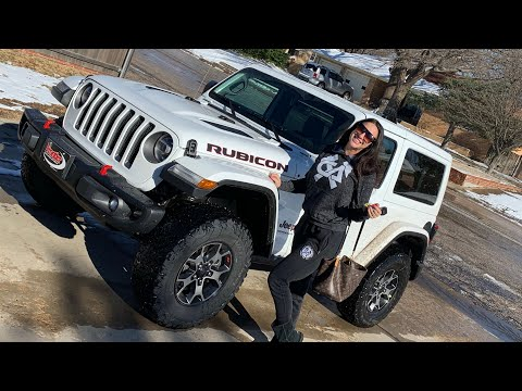 BOUGHT MY WIFE A BRAND NEW JEEP WRANGLER RUBICON JL!!!!!