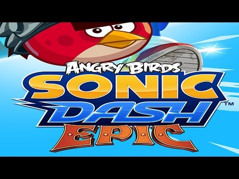 Sonic Dash: Angry Birds Epic Takeover - IOS / Android - HD Gameplay Trailer