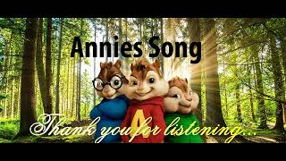John Denver - Annies Song - HQ (Official Alvin and The Chipmunks) - NO ROBOTIC VOICES
