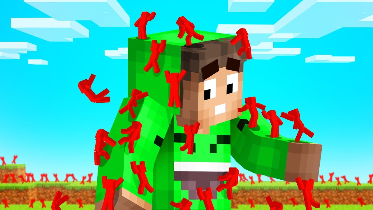 Download I Got Attacked By 10,000 Mini CLAY SOLDIERS In Minecraft...