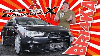 Mitsubishi Lancer Evolution X (EVO 10) | Test and Review | Bri4ka.com