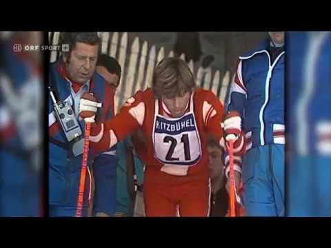 Alpine ski 1974 WC Kitzbuhel, Hansi Hinterseer, Slalom