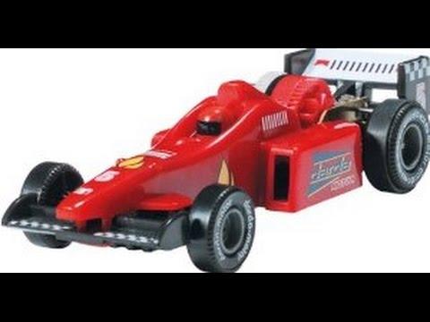 Darda Formula 1 Red Car Coche Rojo Juguete Coche De Carreras