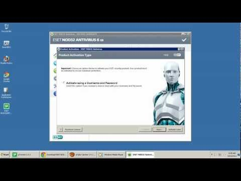 ESET NOD32 ANTIVIRUS 6 32BIT with [Crack] FULL