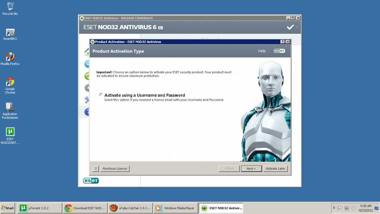 eset nod32 antivirus download 32 bit