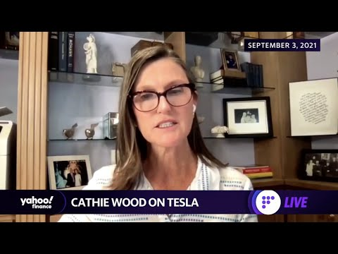 Cathie Wood unloads about $62 million of Tesla shares
