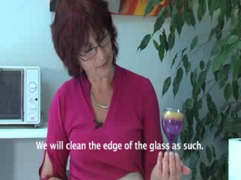 Pebeo Vitrea 160 How To Paint On Glass With A Sponge Youtube