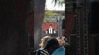 """Will Ferrell singing 'I will always love you"""" at usc graduation 2017"""