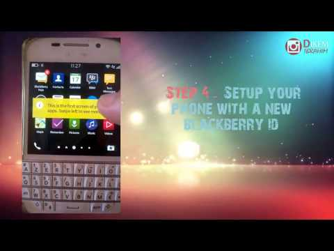 BB10 Tutorials -  Disable Blackberry Anti theft