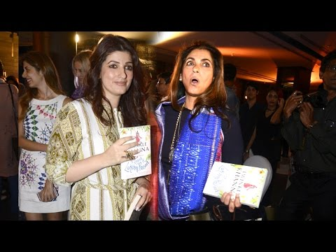 Dimple Kapadia's FUNNY Comment On Twinkle Khanna's New Book The Legend Of Laxmi Prasad