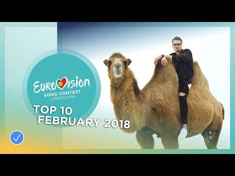 TOP 10: Most watched in February 2018 - Eurovision Song Contest
