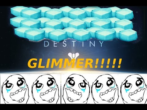 Destiny Glimmer Farm!!! 2015