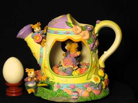 Teapot (bunny lovers) music box series