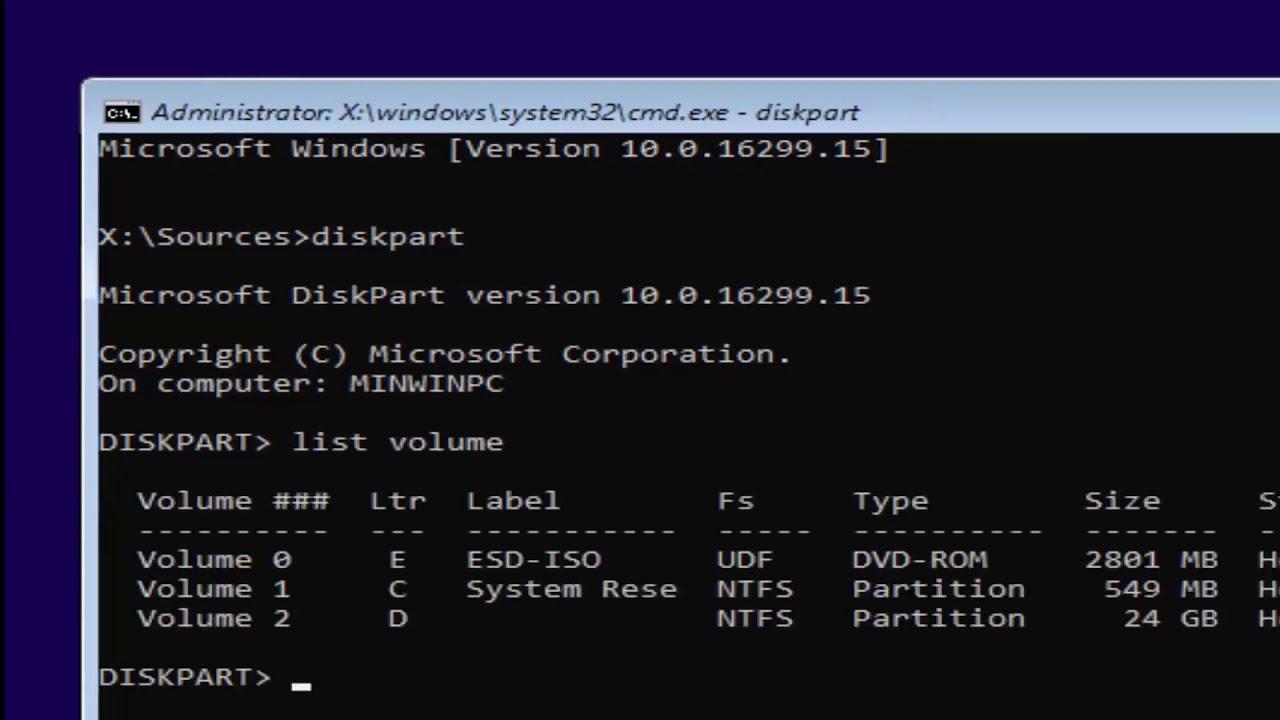 Reset Windows 28 Password Command Prompt