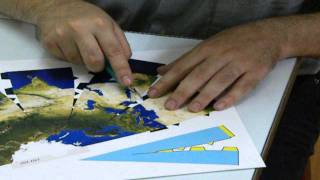 Papercraft Models of the Planets - Cutting