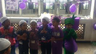 Purple Colour Day - Rightway Islamic School, Madurai