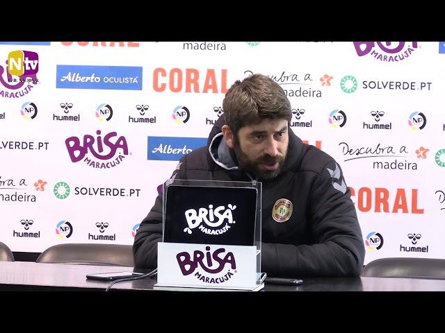 Luís Freire na antevisão a Guimarães: