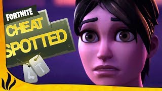 CHEATEURS SPOTTED ! (Fortnite: Battle Royale)