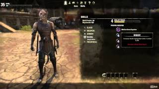 The Elder Scrolls Online — развитие персонажа (русские субтитры)