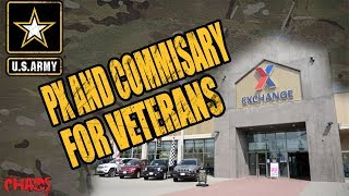 More PX and Commissary privileges for veterans