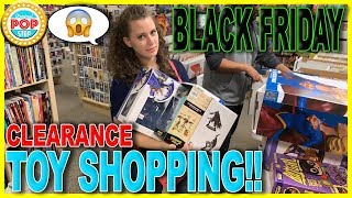 Black Friday CLEARANCE Toy Shopping   HUGE Collectibles Haul for CHEAP!!!