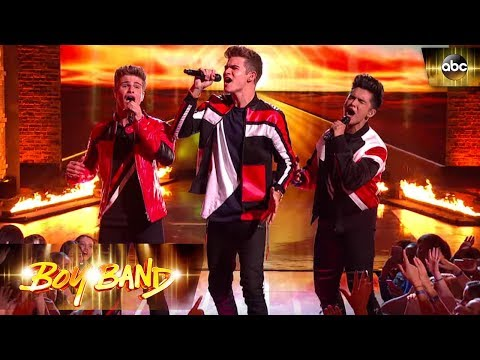 Never Gone Performance – The Edge of Glory   Boy Band