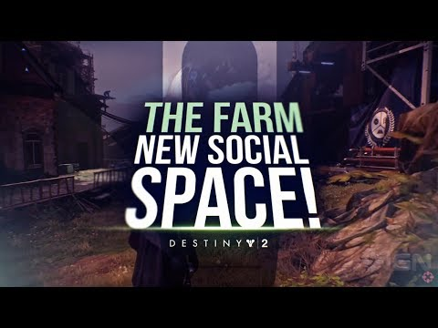 Destiny 2 Beta: Exploring The New Social Space The Farm!
