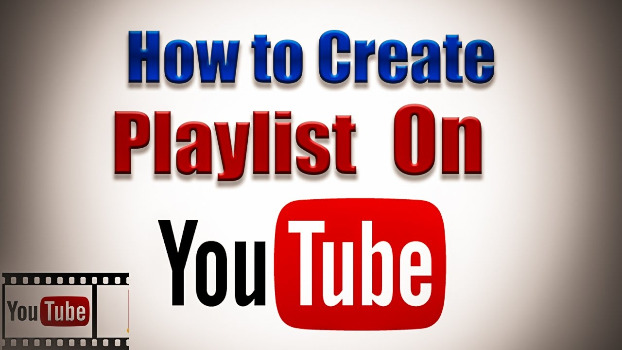 how to create video playlist