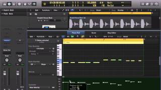 Logic Pro 10.1 tutorial - Quickly Convert Velocities To Same Value