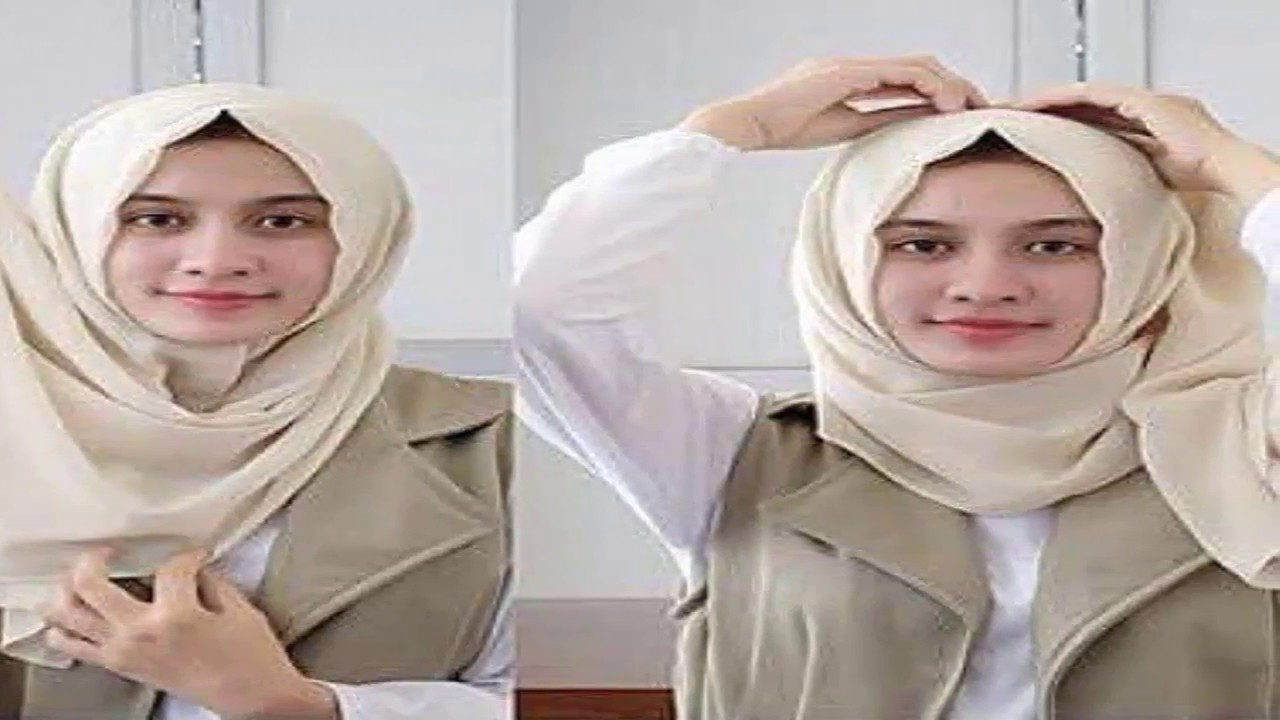 Tutorial Hijab Terbaru 2017 Simple Modis Dan Syari YouTube