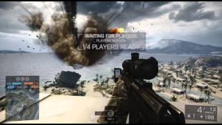 Battlefield 4 Hainan Resort Exploding cargo ship!