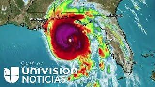 El huracán Michael avanza categoría 4 con vientos de 145 mph. camino a Florida.