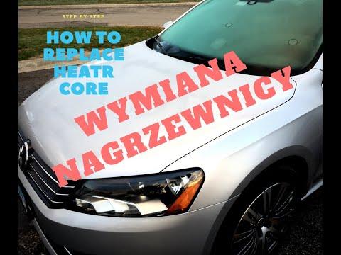Vw Pat How To Replace Heater Core Jak Wymienic Nagrzewnice B7