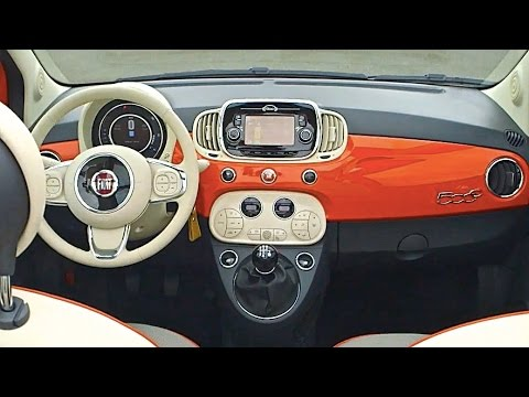 2016 FIAT 500 INTERIOR Options ALL NEW FIAT 500 2015 TV Commercial ...
