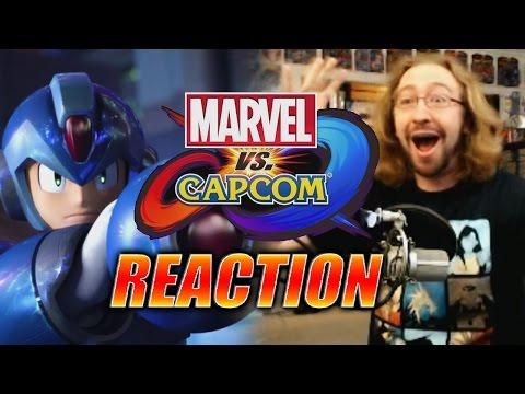 MAX REACTS: Marvel Vs. Capcom Infinite Trailer (Dreams Come True)