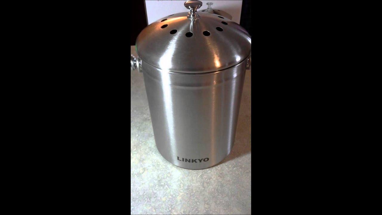 linkyo kitchen compost bin review