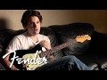 John Mayer on the Special Edition BLACK1 Stratocaster® | Fender