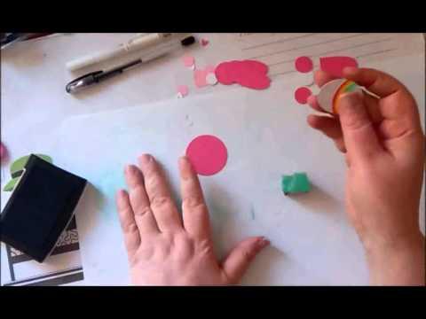 Anleitung Für Ein Glücksbärchen Aus Stanzteilen 1 Youtube