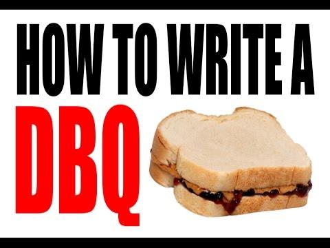 How to write a dbq?/ please help!?