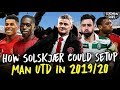 How Solskjaer Could Set Up Manchester United Next Season | Starting XI, Formation & Tactics