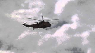 RAF Westland Sea King exercise training @16:27
