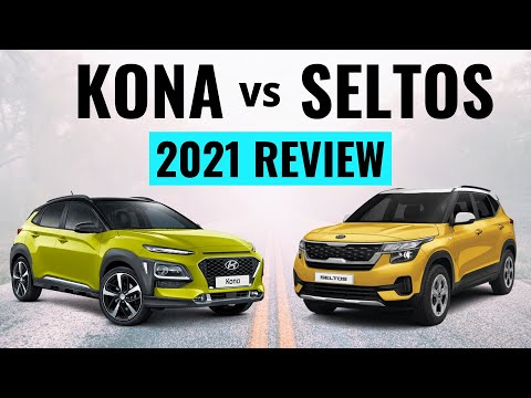 2021 Kia Seltos vs Hyundai Kona – Which is Best? Find Out!