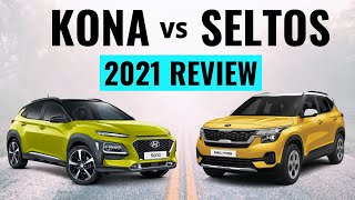 2021 Kia Seltos vs Hyundai Kona - Which is Best? Find Out!