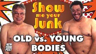 Men hairy Old sex fat
