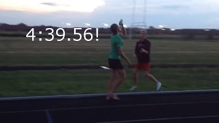 Corey Bellemore shatters beer mile world record (unofficially 4:39.56)