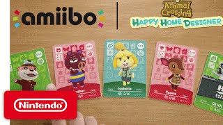 Animal Crossing: Happy Home Designer - Gameplay & amiibo Cards!