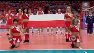 Hymn Polski /Spodek odleciał !!! Obejrzyj. Każdy Polak powinien to kiedyś przeżyć!:)